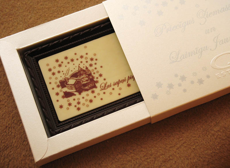 Box With Transparent Window - Framed Chocolate Picture in a box, 90g