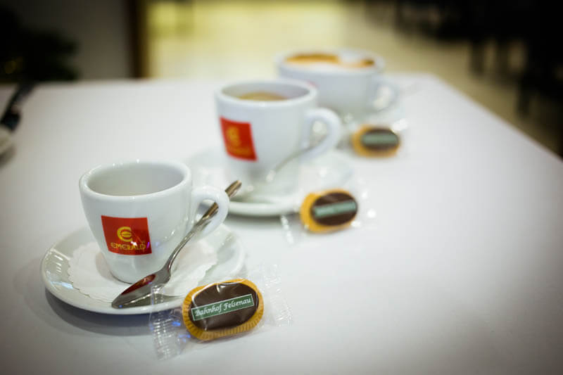 Promo Sweets - Coffee Biscuit with Chocolate in a Polybag, 5g