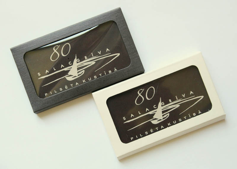 Printing On Chocolate - Promotional Chocolate Bar in a box, 20g